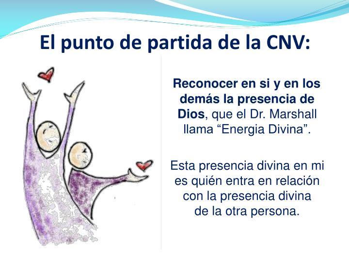 El punto de partida de la CNV: