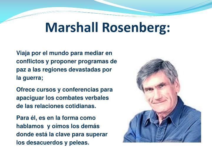 Marshall Rosenberg: