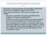 teacher recommendations1