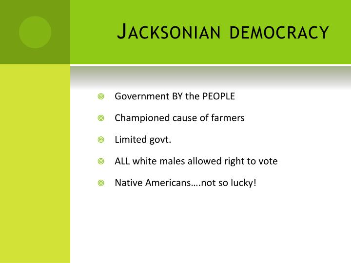 Jacksonian