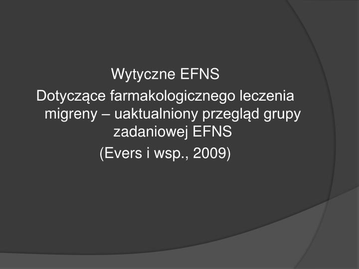 Wytyczne EFNS