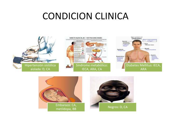 CONDICION CLINICA