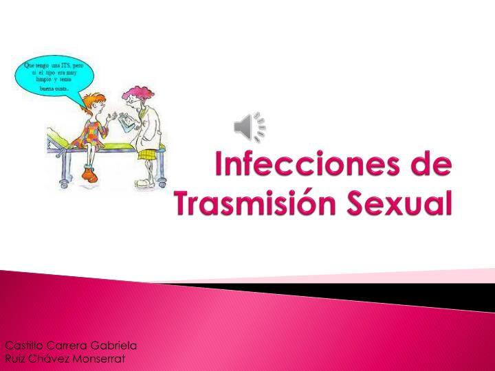 Infecciones de trasmisi n sexual
