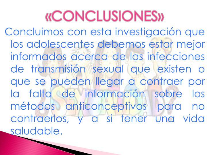 «CONCLUSIONES»