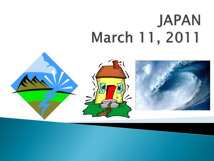 Japan march 11 2011