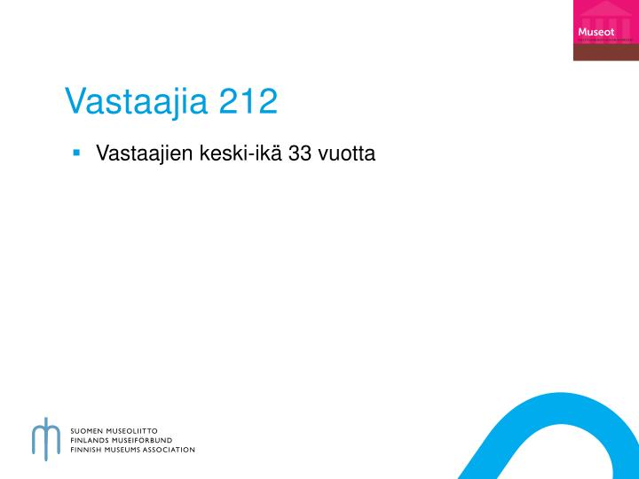 V astaajia 212