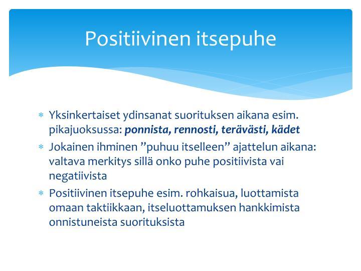 Positiivinen