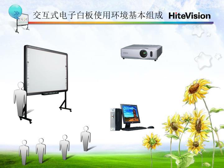 交互式电子白板使用环境基本组成