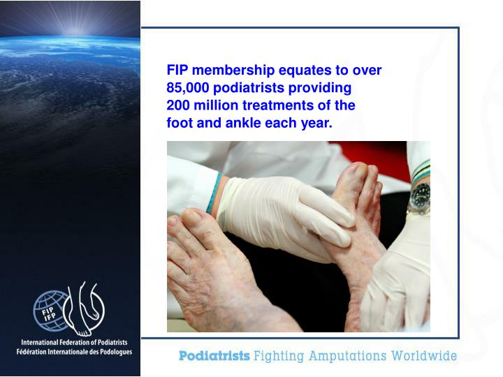 FIP membership equates to over