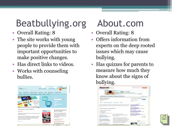 Beatbullying.org    About.com
