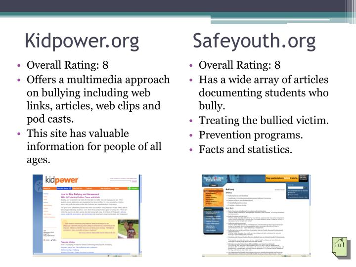 Kidpower.org         Safeyouth.org