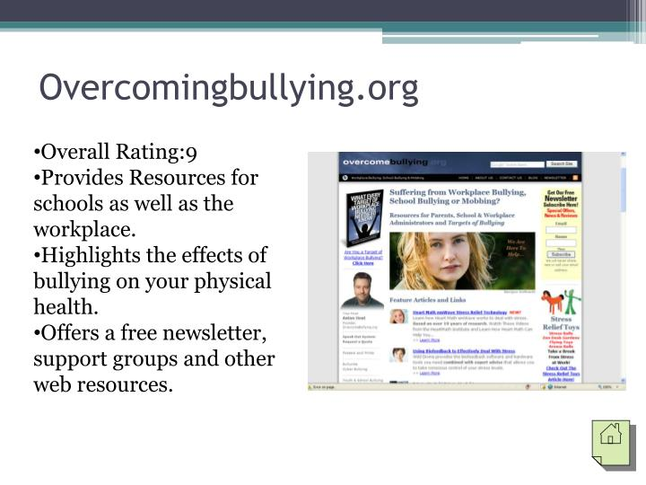 Overcomingbullying.org