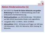 aktion kinderw nsche 1