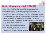 kinder bewegungsstadt 2014 2