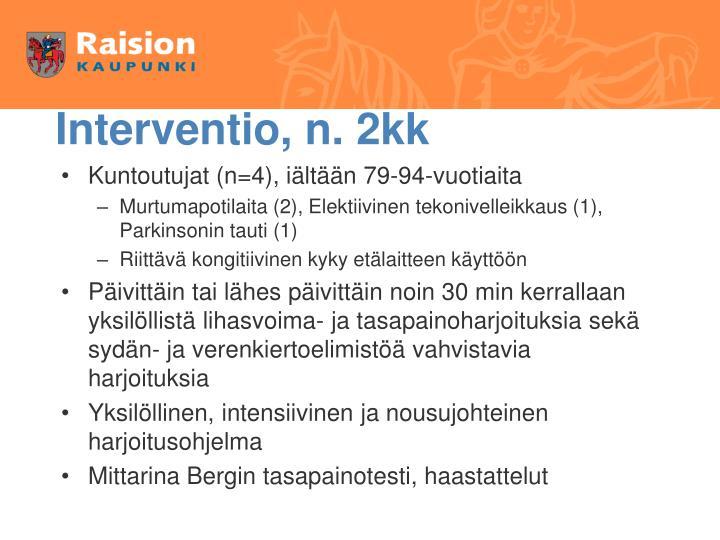 Interventio, n. 2kk