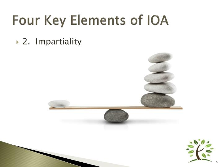 Four Key Elements of IOA