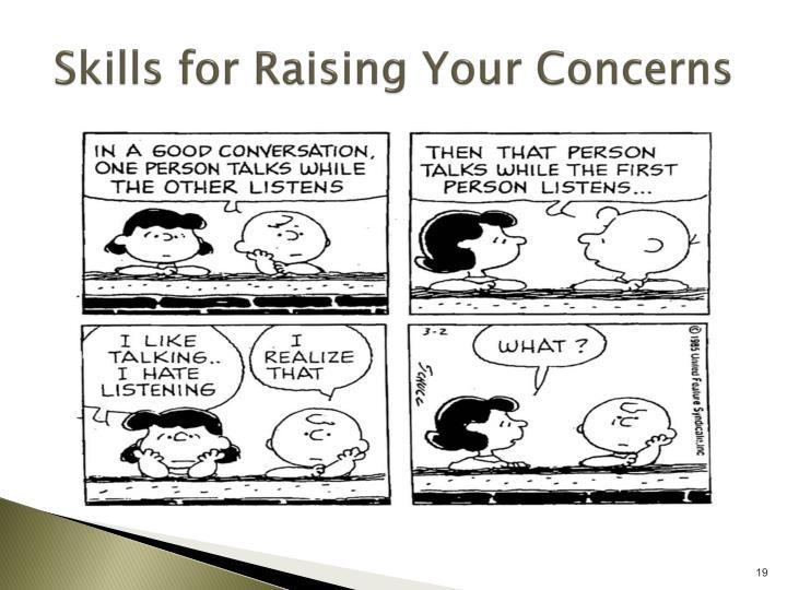 Skills for Raising