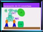 generaci n de c3 convertasa7