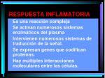 respuesta inflamatoria1