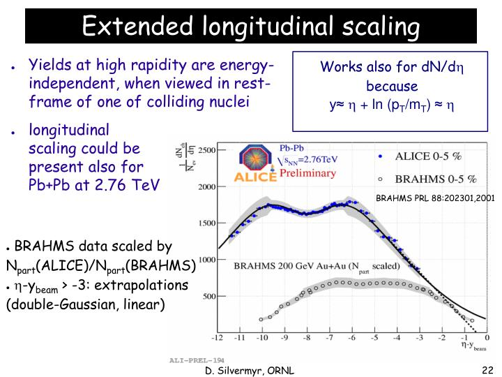 Yields at high rapidity are energy-independent, when viewed in rest-frame of one of colliding nuclei
