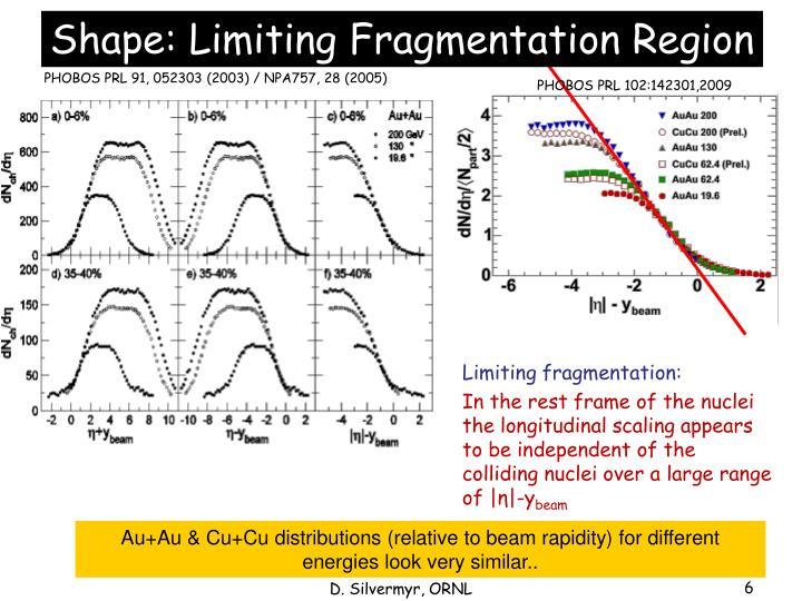 Shape: Limiting Fragmentation Region