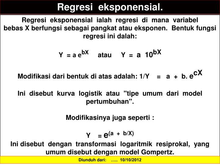 Regresi
