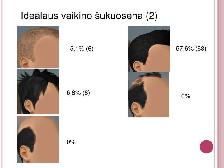 Idealaus vaikino šukuosena