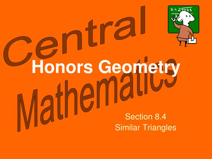 Honors Geometry