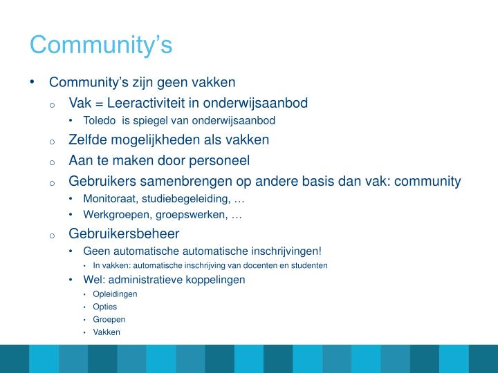 Community's