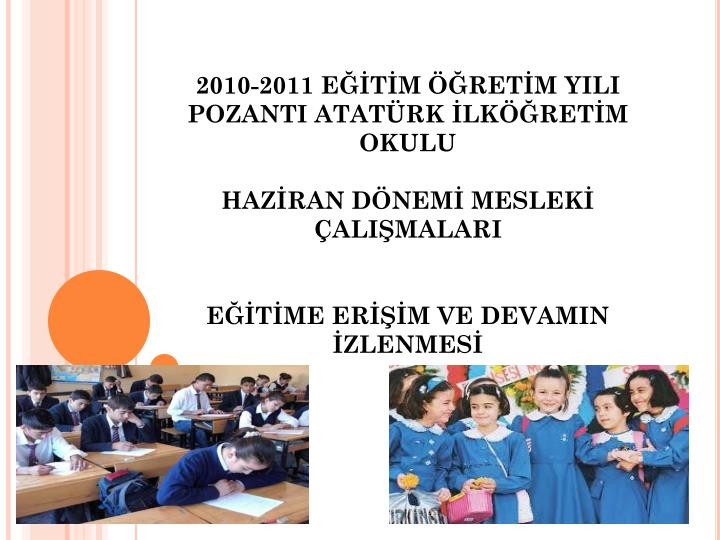 2010-2011 ETM RETM YILI