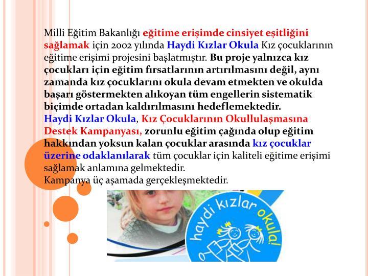 Milli Eitim Bakanl
