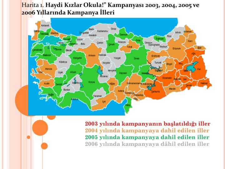 Harita 1.