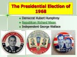 the presidential election of 19681