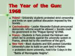 the year of the gun 1968