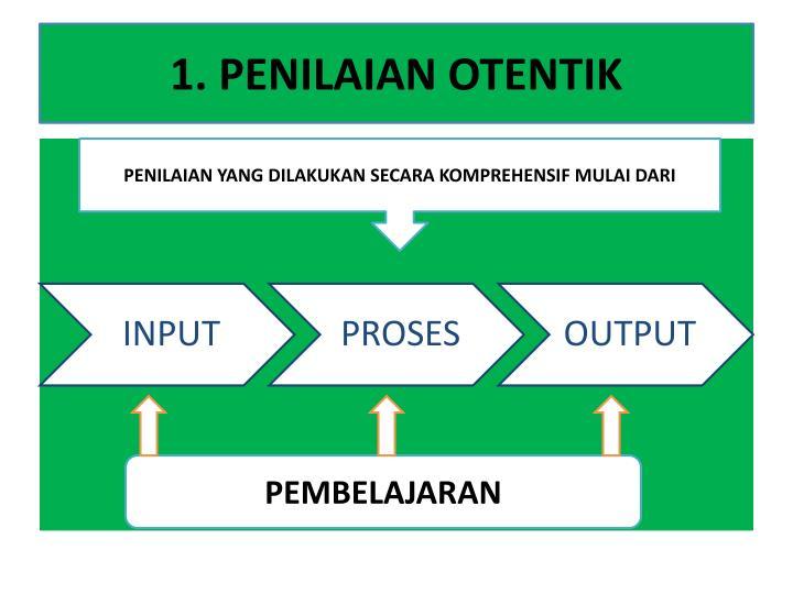 1. PENILAIAN OTENTIK