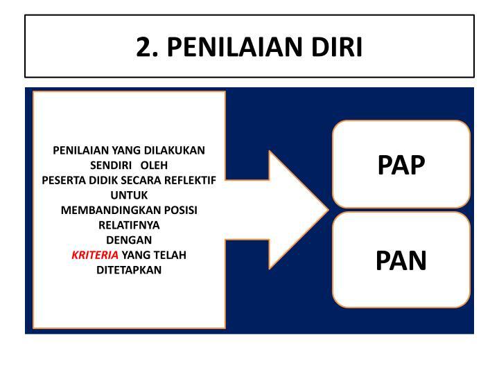 2. PENILAIAN DIRI