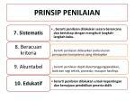prinsip penilaian1