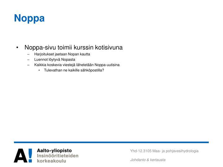 Noppa