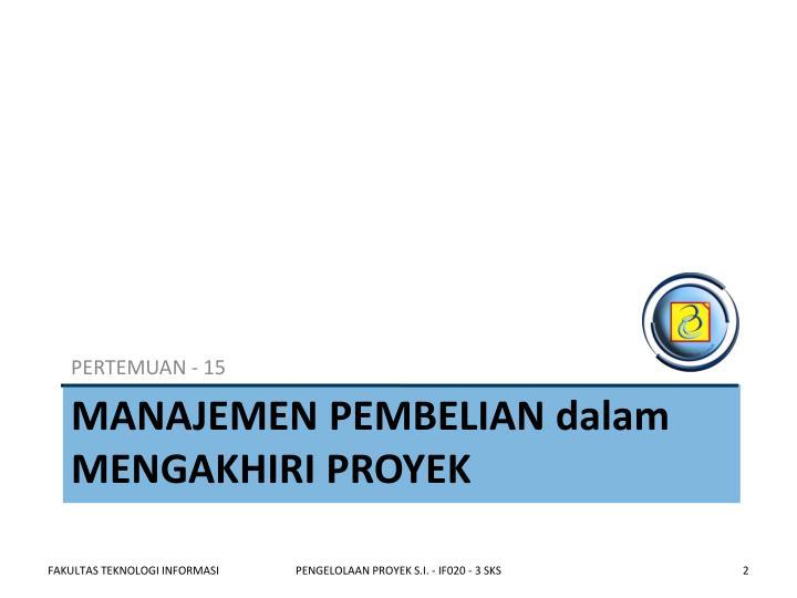 PERTEMUAN - 15