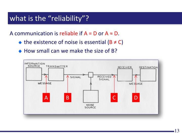 "what is the ""reliability""?"