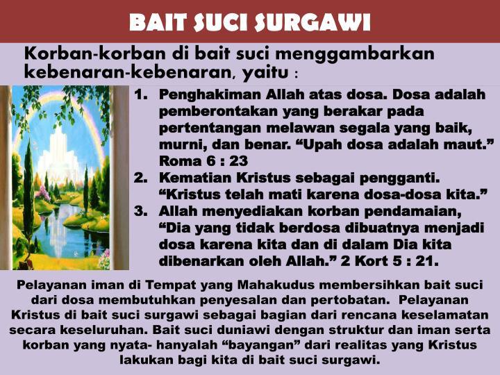 BAIT SUCI SURGAWI
