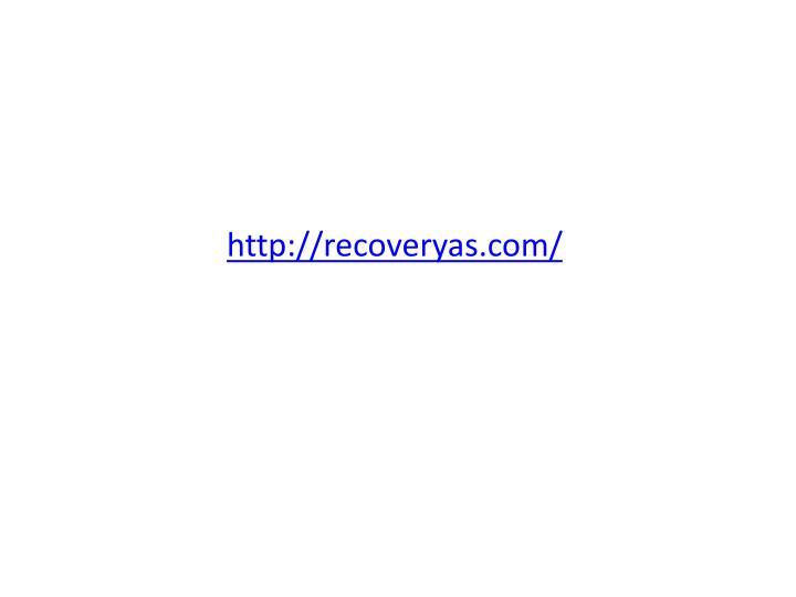 http://recoveryas.com/