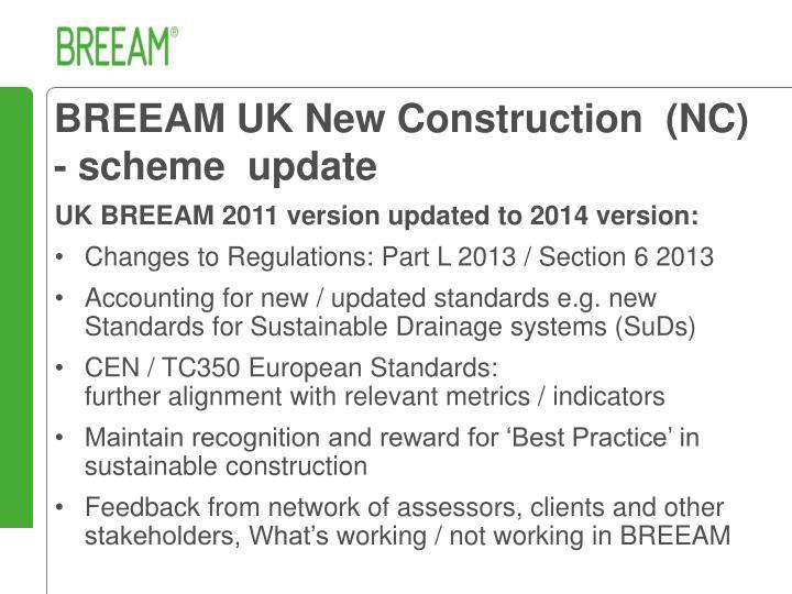 BREEAM UK New Construction