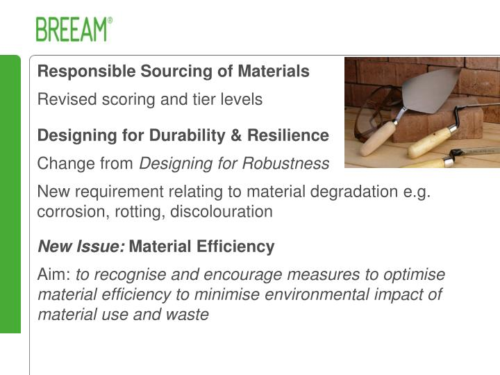 Responsible Sourcing of Materials