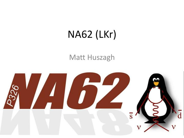 NA62 (