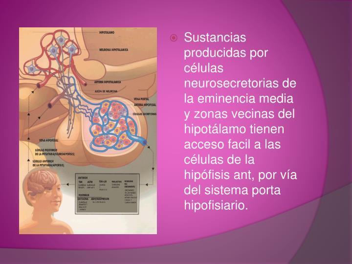 Sustancias producidas por células