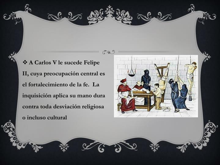 A Carlos V le