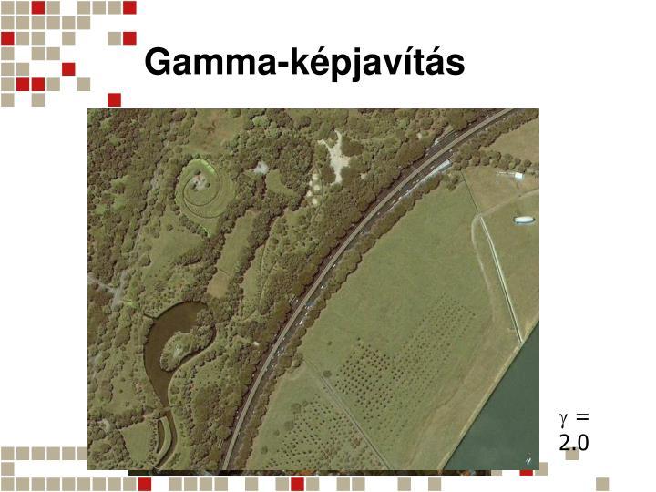 Gamma-képjavítás