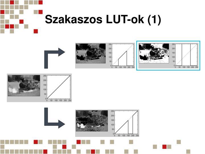 Szakaszos LUT-ok (1)