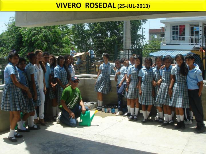 VIVERO  ROSEDAL